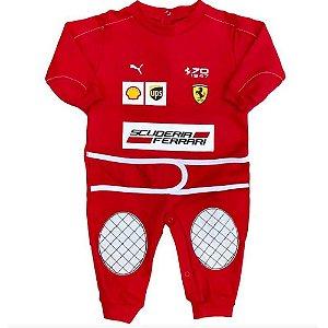 Macacão Suedine F1 Ferrari Premium