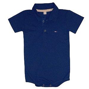 Body Polo Azul Marinho