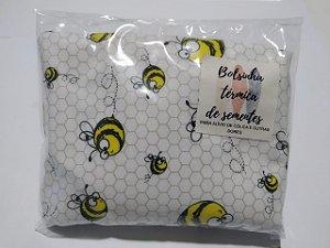 Bolsinha Térmica de Sementes - Abelha