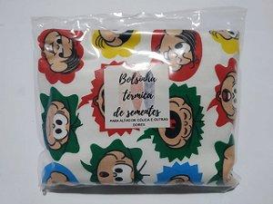 Bolsinha Térmica de Sementes - Turma da Mônica - SEU BEBÊ SEM CÓLICA