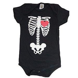 Body Esqueleto coração