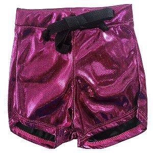 Shorts Style 1 Pink Brilho