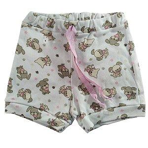 Shorts Malha Cachorrinho