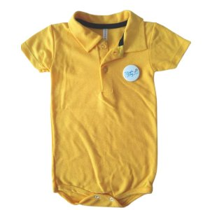 Body Polo Amarelo