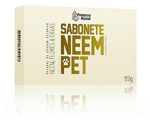 Sabonete Neem Pet 120g - Preserva Mundi