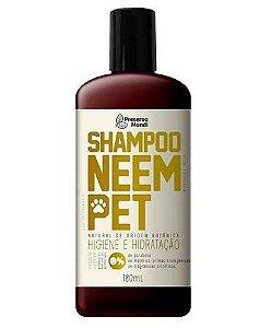 Shampoo Neem Pet 180ml - Preserva Mundi