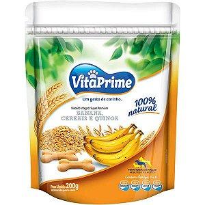 Biscoito para Cães sabor Banana, Cereais e Quinoa 200g - VitaPrime
