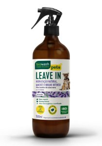 Leave In Lavanda para Cães e Gatos 500ml - Biowash