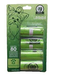 Refil Cata Caca Biodegradável Lavanda - Beeva