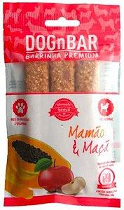 Barrinha Premium Mamão e Maça 60g - DognBar