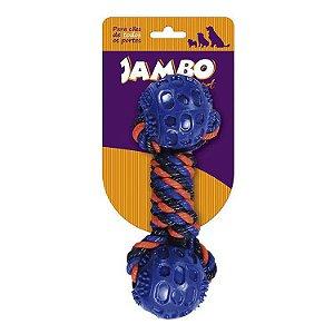 Brinquedo Mordedor Blue Corda Twisted - Jambo