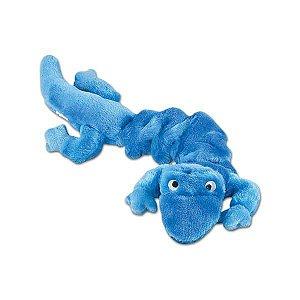 Brinquedo Mordedor de Pelúcia Lagartixa Azul - Jambo