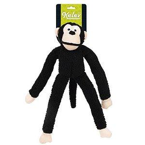 Brinquedo Mordedor de Pelúcia Macaco Preto - Jambo