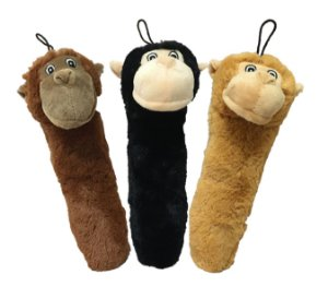 Brinquedo Mordedor de Pelúcia Macaco Monkey Fleece - Jambo