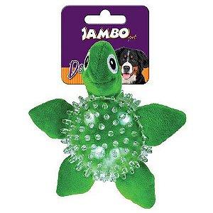 Brinquedo Mordedor de Pelúcia Spiky Ball Tartaruga - Jambo