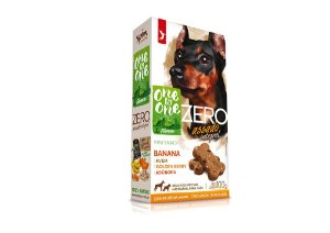 Biscoito Natural Mini Snack ZERO Banana Abóbora e Aveia 100g - Spin Pet