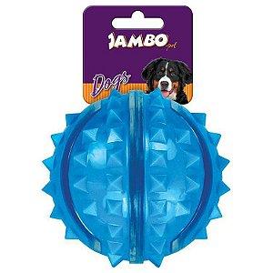 Bola Dura Espinho Azul Grande - Jambo
