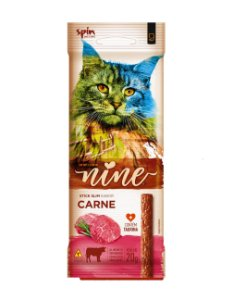 Petisco para Gatos Stick NINE Carne 20g - Spin Pet