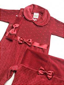 Saída de Maternidade Plush Ma -  3 Peças