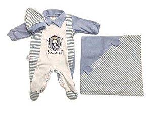 Saída de Maternidade de Suedine Mo - 3 Peças