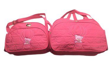 Kit de Bolsa Urso com Balão Pink