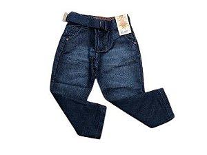 Calça Jeans Com Cinto 1/3