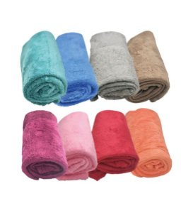Cobertores Microfibra Liso 90cm x 1,05m
