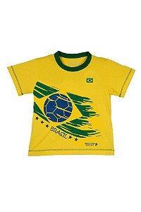 Camiseta Brasil Unissex Tam 8