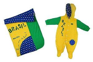 Saída de Maternidade Luxo Brasil Unissex