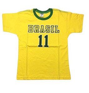 Camiseta do Brasil 11 Tam 10