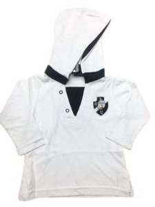 Camiseta Manga Longa c/ Capuz do Vasco Unissex - P/GG