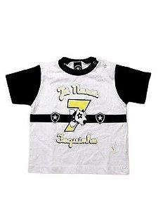 Camiseta do Botafogo Unissex - P/GG