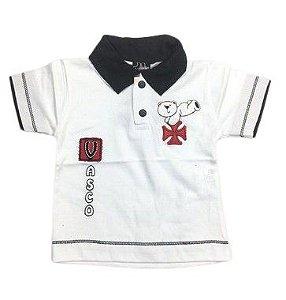 Camiseta Polo do Vasco Masculino P ao GG