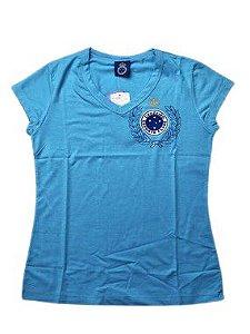 Camiseta do Cruzeiro Feminina - Tam 18