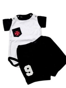 Conjunto Body e Shorts do Vasco Masculino - P ao GG