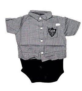 Body Polo Atlético Mineiro Masculino - P ao GG