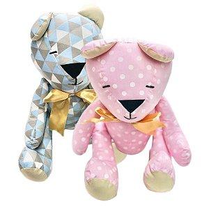 Urso de Pano Decorativo