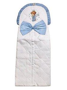 Porta Fralda de Anjinho Azul