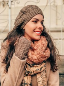 Boina tricot básica