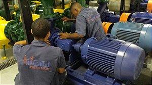 Manutenção em bombas e motores