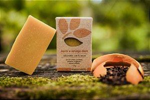 Sabonete buriti e laranja doce - pele normal à seca