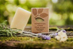 Sabonete Manteiga de cacau e lavanda - pele normal à seca