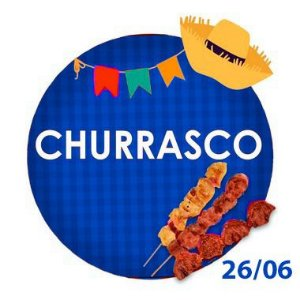 CHURRASCO - RETIRADA SOMENTE NO DIA DA FESTA COM HORÁRIO PREVIAMENTE AGENDADO - 26 de junho