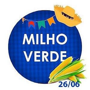 MILHO VERDE NA BANDEJA  - 200g - RETIRADA SOMENTE NO DIA DA FESTA COM HORÁRIO PREVIAMENTE AGENDADO - 26 de junho