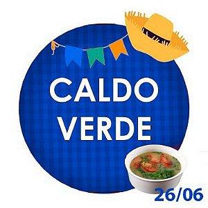 CALDO VERDE - RETIRADA SOMENTE NO DIA DA FESTA COM HORÁRIO PREVIAMENTE AGENDADO-26 junho
