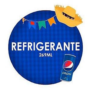 REFRIGERANTE (269ml) - RETIRADA SOMENTE NO DIA DA FESTA COM HORÁRIO PREVIAMENTE AGENDADO - 26 de junho