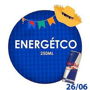 ENERGÉTICO (250ml) - RETIRADA SOMENTE NO DIA DA FESTA COM HORÁRIO PREVIAMENTE AGENDADO - 26 de junho