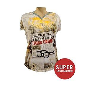 Camiseta baby look - Carnaval 2021