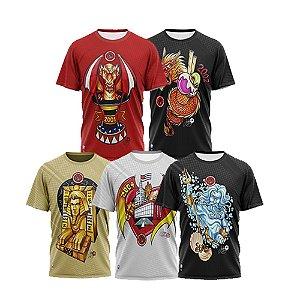 Combo  com 5 camisetas (2001,2002,2003,2004 e 2005)