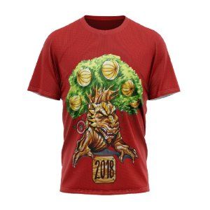 Camiseta comemorativa 2018